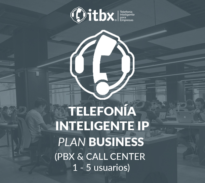 Plan Business PBX (1-5 usuarios)